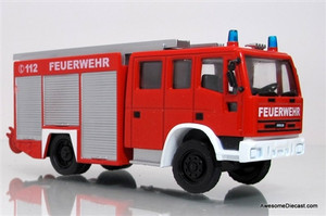 Fire Trucks of the World 1:72 Iveco Magirus LF Euro-Fire 140-12 Pumper