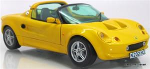 """Chrono 1:18 1997 Lotus Elise """"Norfolk Mustard"""""""