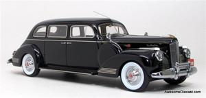 Esval Models 1:43 1941 Packard 180 7-Passenger Limousine (Black)
