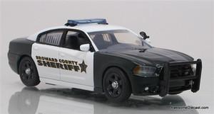 FRR Premiere 1:43 Dodge Charger Patrol Car: Broward Sheriff's Office
