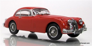 Oxford Diecast 1:43 Jaguar XK150 FHC: Carmen Red