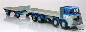 Corgi 1:50 ERF KV 8 Wheel Platform Lorry & Trailer: Russell of Bathgate