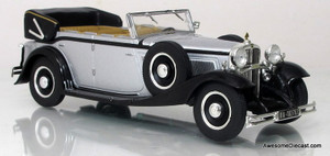 IXO/Altaya 1:43 1930 Maybach V12 DS8 (Silver)