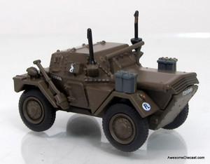 Oxford Diecast 1:76 Dingo Scout Car 10th Mounted Rifles - 10th ACB Polish