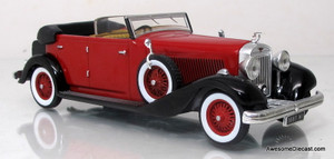 IXO/Altaya 1:43 1934 Hispano Suiza H6C (Red)