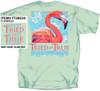 Pink Flamingo Tried & True Comfort Color Tee