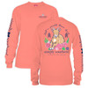 Goat Just A Small Town Girl Preppy Long Sleeve Simply Southern Tee