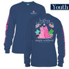 Youth Sisters Stick Together Kittens Long Sleeve Simply Southern Tee Shirt