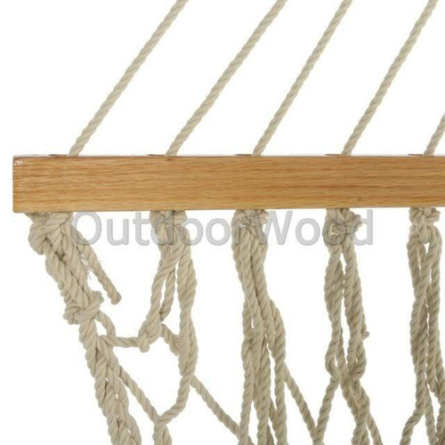 Pawleys Island Deluxe Original COTTON Rope Hammock NEW In Box 14OC