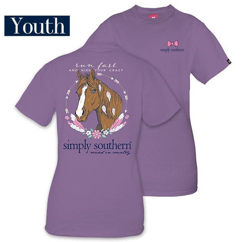 Simply Southern Run Fast Horse Youth Size