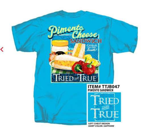 Pimento Cheese & Dukes Mayonnaise Sandwich Tried & True Comfort Color Tee