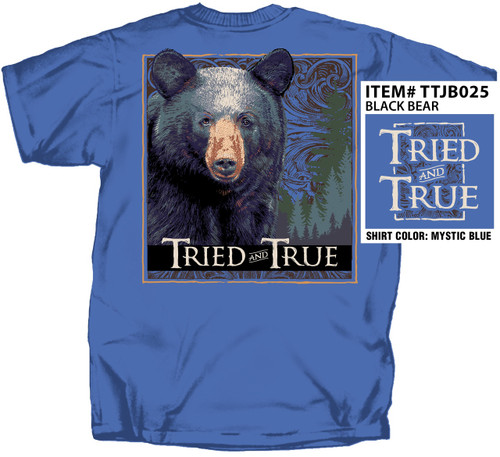 Black Bear Tried & True Comfort Color Tee
