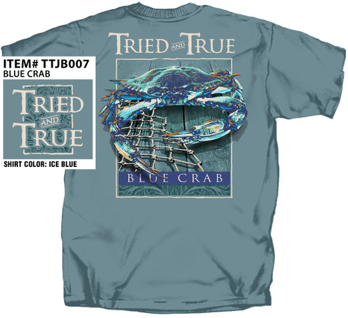 Atlantic Blue Crab Tried & True Comfort Color Tee