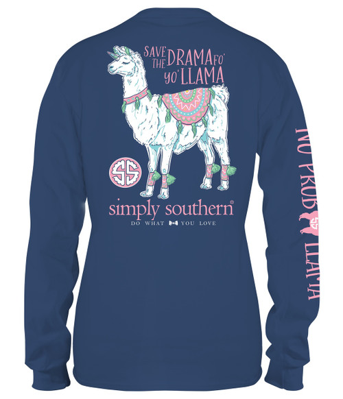 Save The Drama For Your Llama Adult Size