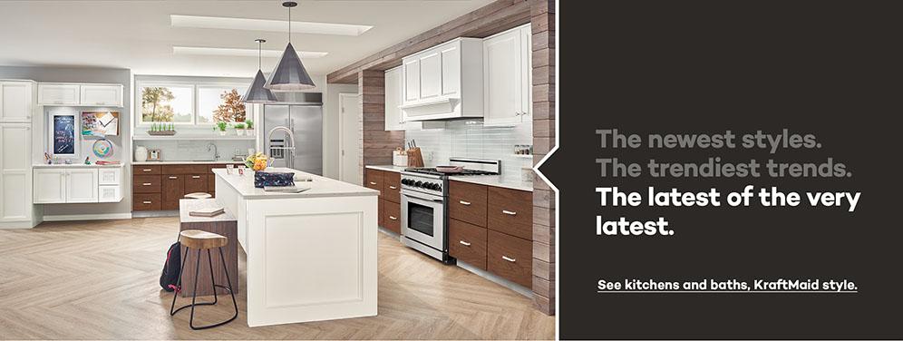 KraftMaid: Beautiful Cabinets For Kitchen U0026 Bathroom Designs.