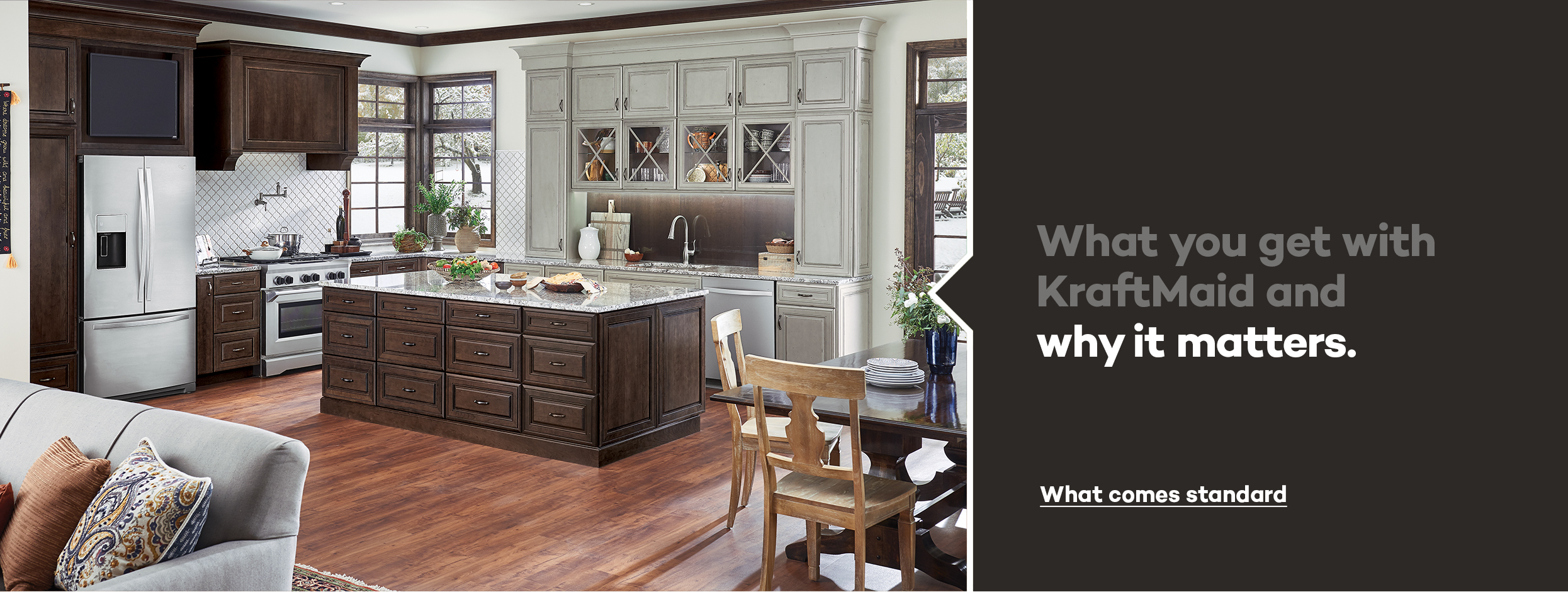 Beautiful KraftMaid: Beautiful Cabinets For Kitchen U0026 Bathroom Designs.