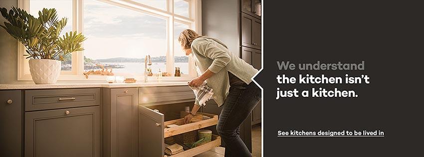KraftMaid: Beautiful cabinets for kitchen & bathroom designs.