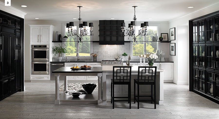 kitchen colors: dark is the new neutral - kraftmaid