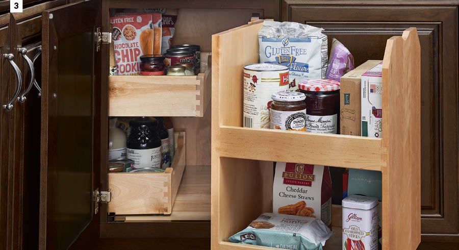 KraftMaid Pantry Swing-Out