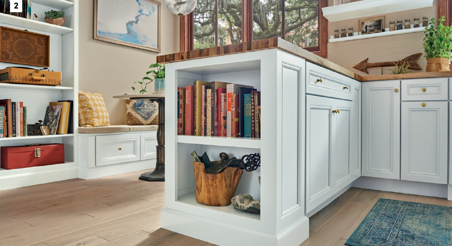 2 Bookcase Island End