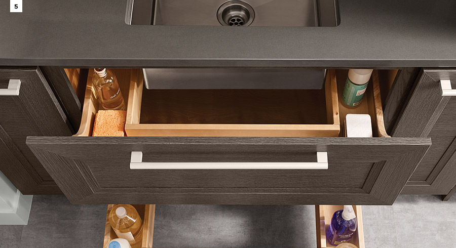 KraftMaid Sink Base Drawers