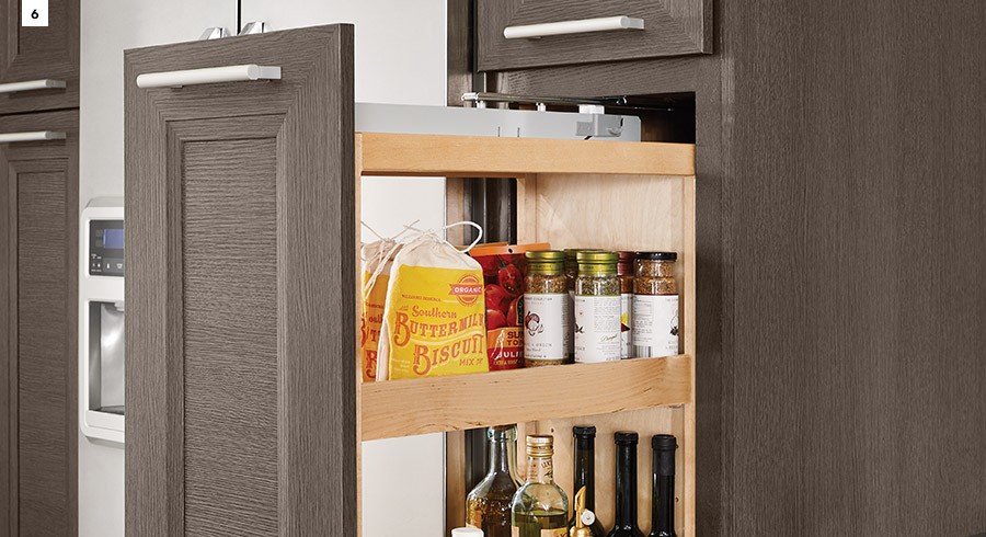 KraftMaid Tall Pantry Pull-Out