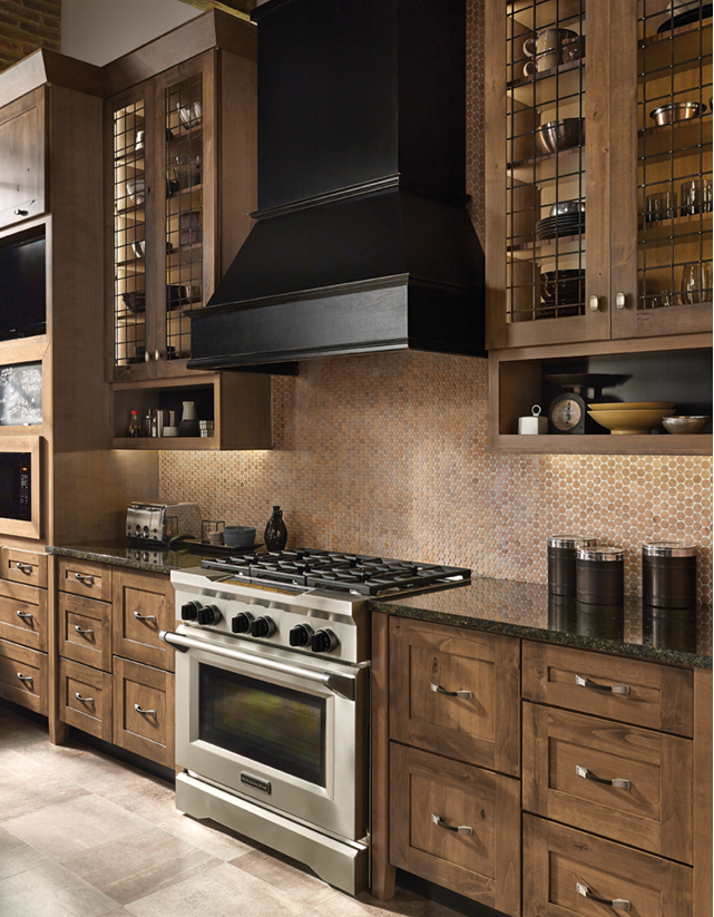 Kitchen Cabinets Knotty Alder rustic alder