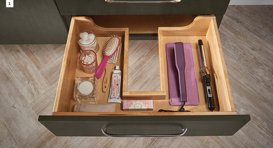 4 bathroom storage solutions to simplify your life kraftmaid - Bathroom vanity storage solutions ...