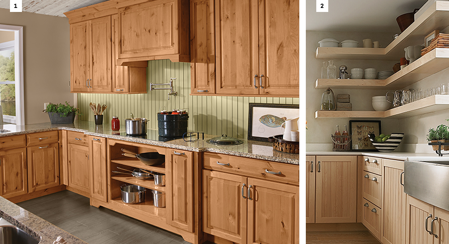 6 ideas for designing a country kitchen kraftmaid Kraftmaid closet systems