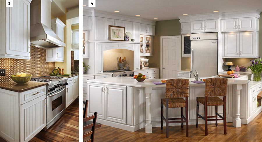Consider Open Shelves In Addition To Cabinetry. An Open Concept Visually  Expands Your Kitchen And Provides An Alternative Storage  Solutionu2014especially For ...
