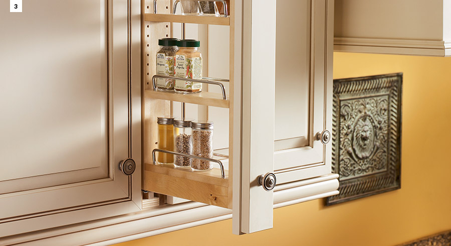 5 must have storage solutions for your new kitchen kraftmaid for Kraftmaid storage solutions