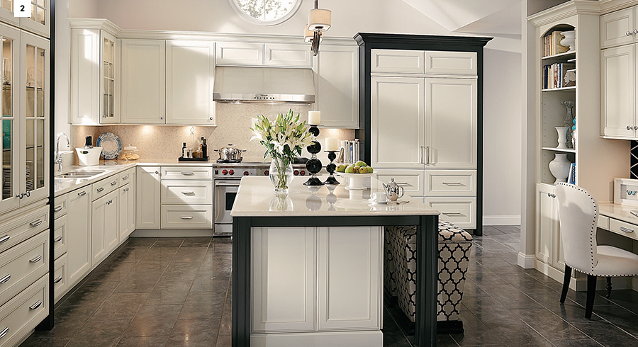 KraftMaid Canvas Kitchen Cabinets