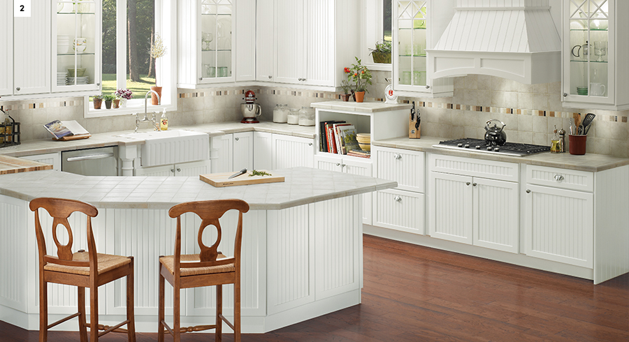 5 most popular kitchen layouts kraftmaid for G shape kitchen