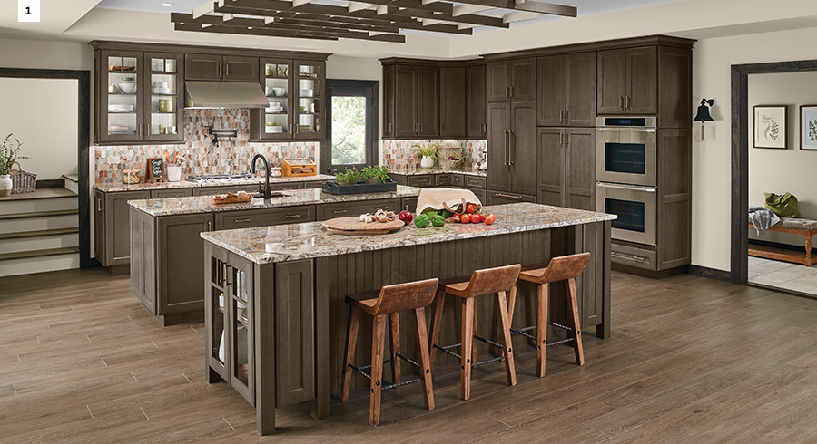 Kitchen Design Trends 5 kitchen design trends to look for in 2017 - kraftmaid