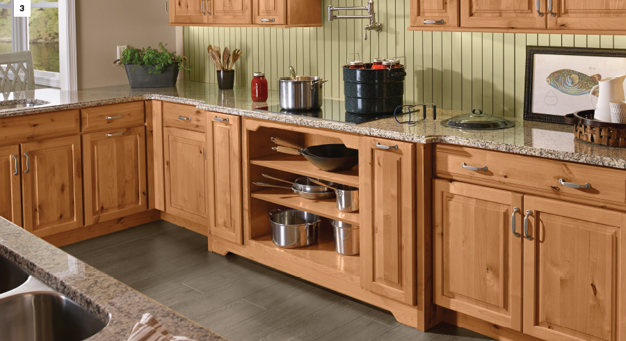BREAK OUT OF THE KITCHEN WORK TRIANGLE: PART 1 \u2013 WHY WORK ZONES : kitchen-cabinets-parts-names - kurilladesign.com