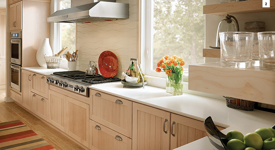 ... Cabinets, Which Helps A Small Kitchen Seem Bigger. Adding Interior  Cabinet Lighting Helps Even Moreu2014just Donu0027t Clutter Up The Inside Of The  Cabinets Or ...