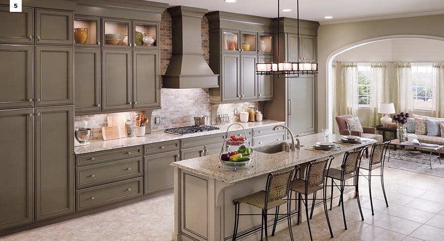 Interior Kraftmaid Kitchens 5 most popular kitchen layouts kraftmaid layouts