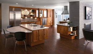 Maple Kitchen in Praline