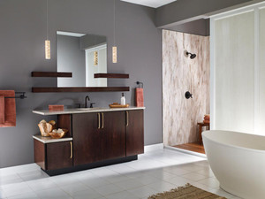 Maple Bathroom in Peppercorn