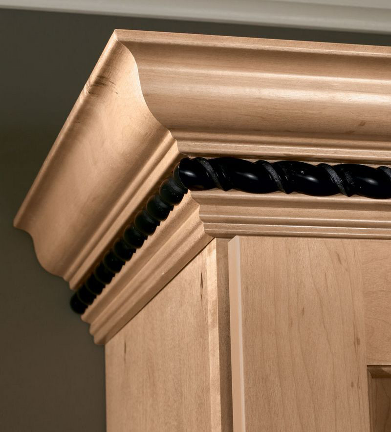 Moldings And Accents At Kraftmaid Com: Classic Crown With Ribbon Twist Insert