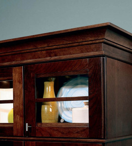 Large Cove Molding with Solid Stock and Single Bead Molding