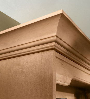 large cove molding with starter molding