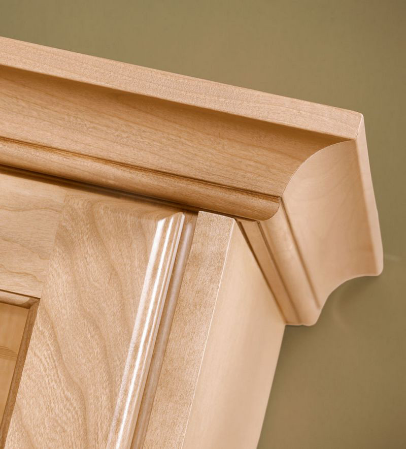 Moldings And Accents At Kraftmaid Com: Large Cove Molding In Natural Maple