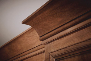 Extra Large Cove Molding with Single Bead Molding