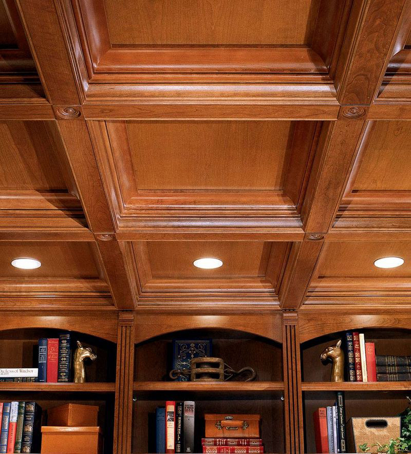Moldings And Accents At Kraftmaid Com: Large Cove Molding In Ceiling Detail