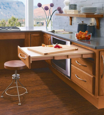 Passport Base Pull Out Table Kraftmaid