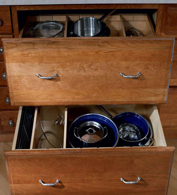 Base Pots and Pans Storage with Adjustable Drawer Dividers - KraftMaid