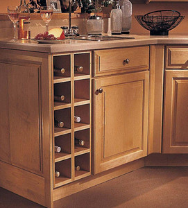 Wall Wine Rack Cabinet - KraftMaid