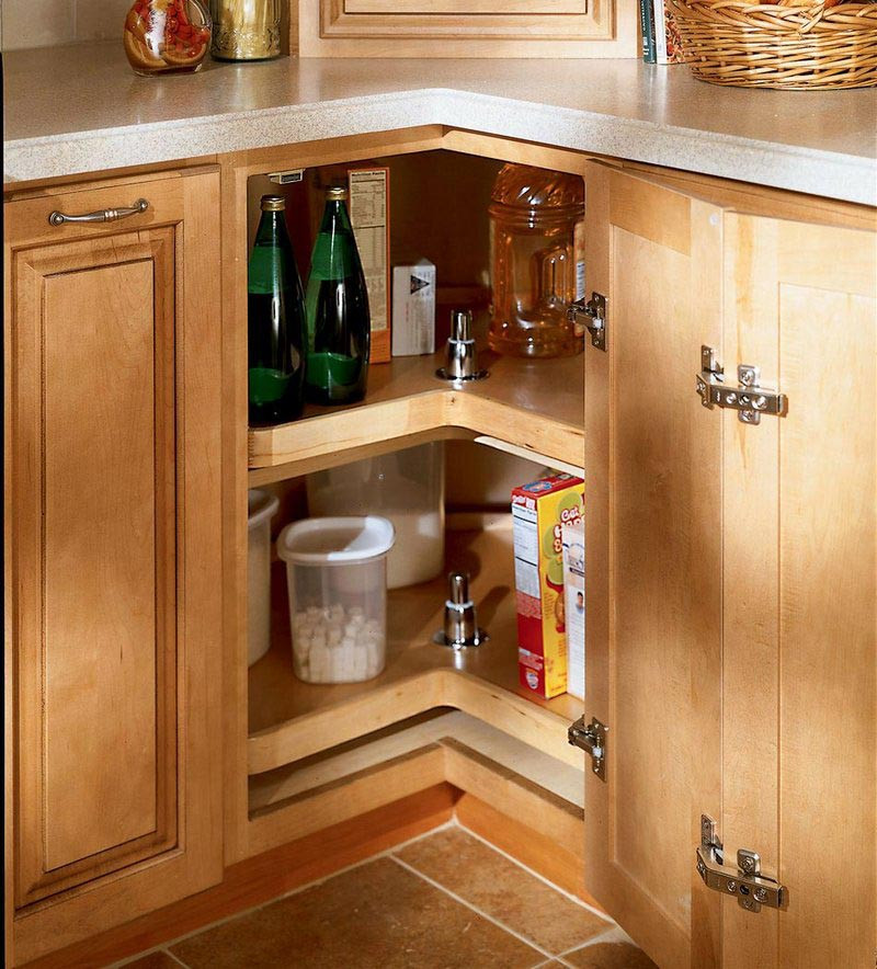 Easy reach wood lazy susan kraftmaid - Kraftmaid cabinet replacement parts ...
