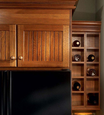 Wall wine rack cabinet kraftmaid - Wine cabinets for small spaces set ...